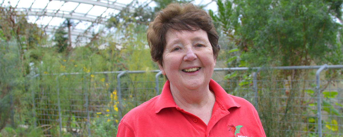Barbara secured paid employment at the National Botanic Garden of Wales
