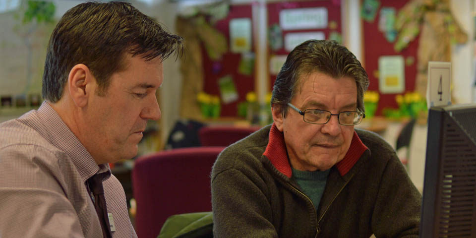 KEVIN WITH PAUL PICKERING, PRIME CYMRU DEVELOPMENT OFFICER